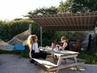 Backpacken aan zee Camping de Lakens