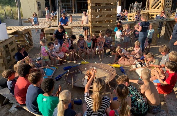 camping de lakens recreatie broodjes bakken 2020