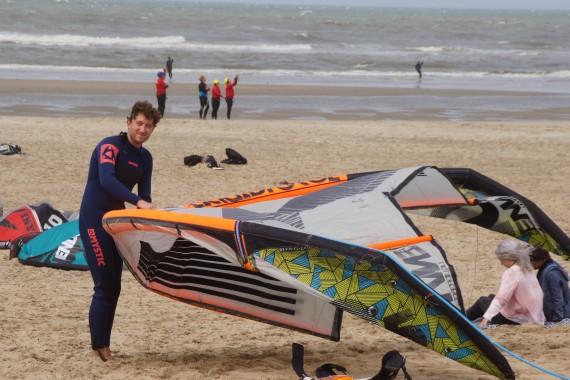 camping de lakens watersport Mifune surf kite strand