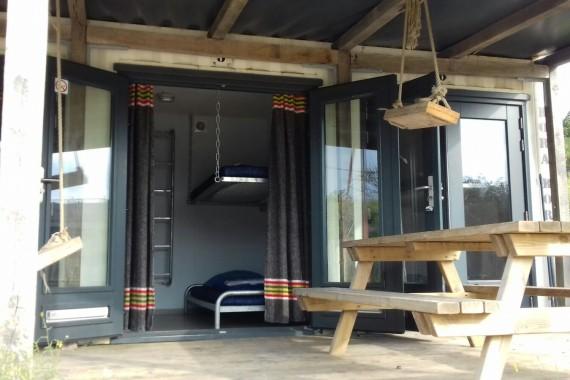 camping de lakens bps backpackshack accommodatie